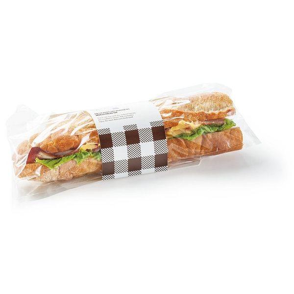 輕鬆品味法棍卡包裝盒(100個/組) 長條麵包 潛艇堡 三明治盒 輕食 包裝盒 漢堡紙 手工餅乾 西點