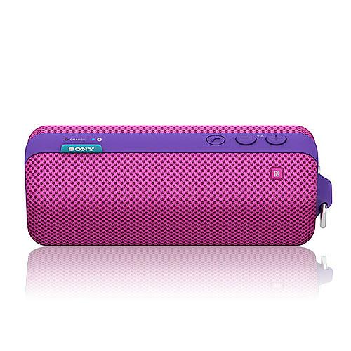 SONY 索尼 SRS-BTS50 紫色 攜掛式 NFC 藍牙 無線喇叭
