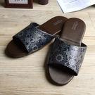 台灣製造-經典系列-室內拖鞋-橡膠鞋底皮...