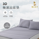【BEST寢飾】3D極凍涼蓆墊 雙人5尺 涼墊 遊戲墊 瑜珈墊 野餐墊 露營床