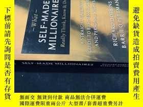 二手書博民逛書店Self罕見Made MillionairesY258675