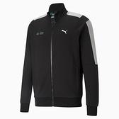 PUMA Mercedes F1 T7 男裝 外套 休閒 立領 歐規 徽章 黑【運動世界】59959701