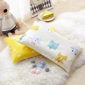 店長推薦 卡通兒童枕頭3-6歲幼兒園小孩午睡純棉寶寶枕芯學生整頭