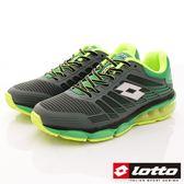 【LOTTO】PHOENIX KPU氣墊跑鞋-LT7AMR5015-綠-男段-0