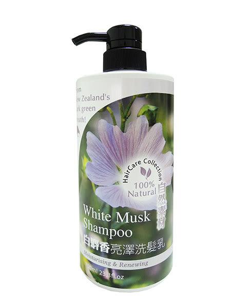 【Timaru堤瑪露】白麝香亮澤洗髮乳700ml(自然素材系列)