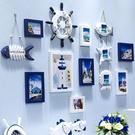 照片牆 創意地中廳實木相框墻掛墻兒童臥室相片墻組合背景歐式-凡屋FC