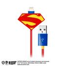 COI+xDC正義聯盟-MFI官方認證Lightning充電傳輸線1.2M 鋼鐵英雄-紅