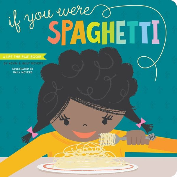 【麥克書店】IF YOU WERE SPAGHETTI:A SILLY BOOK OF FUN I LOVE YOUS /硬頁翻翻書《主題:句型.想像》