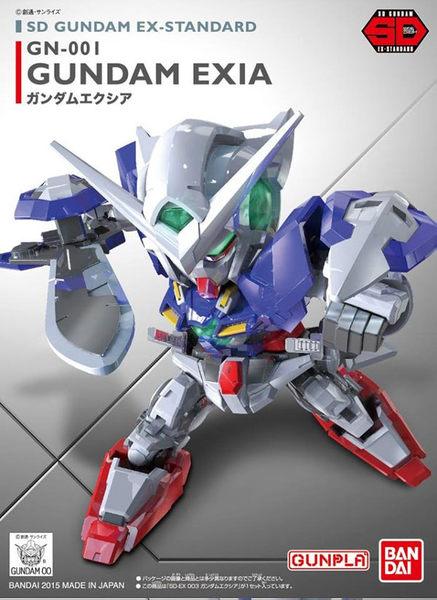 鋼彈模型 BB戰士 SD GUNDAM EX-STANDARD 003 能天使鋼彈 exia 00 TOYeGO 玩具e哥