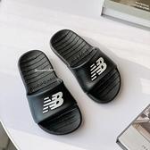 《7+1童鞋》New Balance 韓國限定 一體成形防水拖鞋 9591 黑色