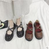 洛麗塔小皮鞋少女學生韓版百搭ulzzang原宿風ins淺口軟妹學院單鞋新年交換禮物