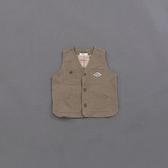 Queen Shop【02080068】童裝 親子系列口袋造型背心 兩色售 S/M/L*現+預*