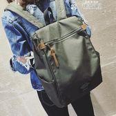 女生後背包書包女韓版原宿 高中學生後背包新款百搭簡約校園街拍背包