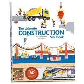 【終極世界版: 交通工具操作書第二集】ULTIMATE CONSTRUCTION SITE BOOK /60個操作機關