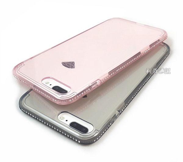 【SHENGO】冰鑽系列鑲鑽透明軟殼 iPhone 7 Plus / 8 Plus (5.5吋)
