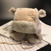 秋冬嬰兒帽子寶寶兒童護耳雷鋒帽男童帽子 萬客居