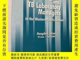 二手書博民逛書店Meeting罕見of TB Managers and TB Laboratory Managers in the