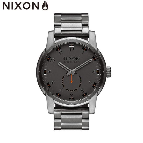 NIXON手錶 原廠總代理A937-632 PATRIOT 銀色潮流時尚鋼錶帶 男女 運動 生日情人節禮物