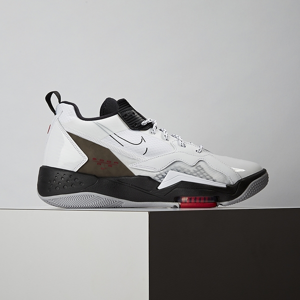 Nike Jordan Zoom 92 男鞋 白黑 氣墊 避震 舒適 包覆 籃球鞋 CK9183-106