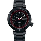 ISSEY MIYAKE 三宅一生W系列限定機械錶-黑/45mm NH36-0010SD(NYAE701Y)