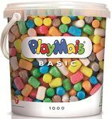 德國PlayMais 玩玉米黏土分享超值桶(1000顆)