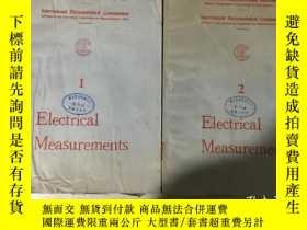 二手書博民逛書店Electrical罕見Measurements 電氣測量 第1