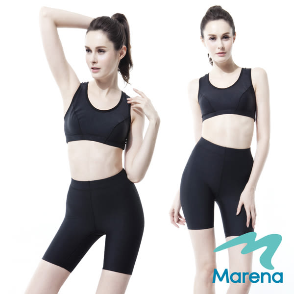 【美國原裝MARENA】魔力輕塑中腰五分塑身褲/顯瘦機能束褲