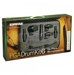 凱傑樂器 SHURE PGADRUMKIT6 DRUM KIT 爵士鼓 收音 麥克風 套組