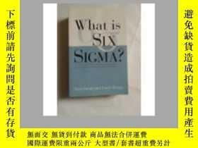 二手書博民逛書店What罕見Is Six Sigma?Y18910 Michae