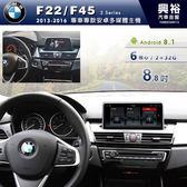 【專車專款】2013~2016年BMW F22/F45專用8.8吋螢幕安卓多媒體主機*6核心PX6CPU