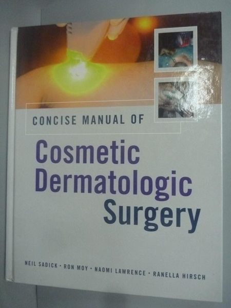 【書寶二手書T2/大學理工醫_ZCS】Concise Manual of Cosmetic Dermatologic S