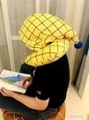 U型護頸枕午睡枕帶帽子男女u枕 【全館免運】