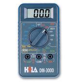 HILA海碁 經濟款3 1/2三用電錶 DM-3000