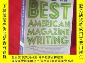 二手書博民逛書店The罕見Best American Magazine Writ