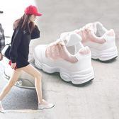 春夏季鞋子女2018新品百搭運動鞋正韓透氣原宿休閒小白鞋 雙12八五折搶先夠!