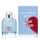 DOLCE & GABBANA 示愛宣言限量版男性淡香水 125ml Vivo薇朵