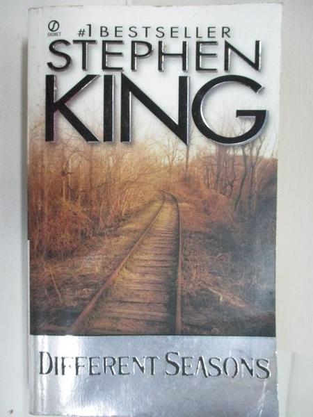 【書寶二手書T1/原文小說_C9A】Different Seasons_Stephen King