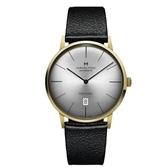HAMILTON 漢米爾頓/復刻紳仕經典機械皮帶錶/42MM/H38735751