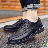 皮鞋 英倫皮鞋男夏季商務休閒鞋內增高男鞋韓版百搭青春潮流鞋子男潮鞋 城市玩家