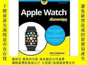 二手書博民逛書店蘋果手錶達人迷罕見英文原版 Apple Watch For Du