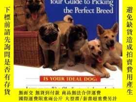 二手書博民逛書店Choosing罕見a dog: your guide to picking the perfect breed