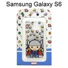 復仇者聯盟Q版透明軟殼 [雷神] Samsung G9200 Galaxy S6 【正版授權】