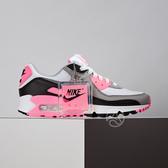 Nike Air Max 90 女鞋 黑灰粉 休閒 復古經典 氣墊 慢跑鞋 CD0490-102