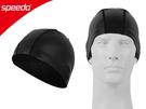 SPEEDO 矽膠泳帽-黑(游泳 水上活動≡排汗專家≡