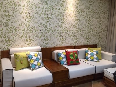 時尚美式花鳥抱枕 靠墊 沙發裝飾靠枕 (二入)