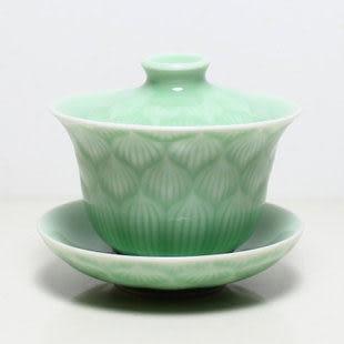 龍泉青瓷 蓋碗