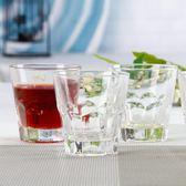 玻璃杯家用杯6只套裝無鉛洋酒水飲料果汁杯酒吧KTV酒杯威士忌杯