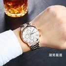 手錶男士2018新品防水運動非機械錶學生時尚潮大錶盤男錶石英