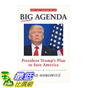 [106美國直購] 2017美國暢銷書 Big Agenda:President Trump's Plan to Save America