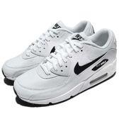 Nike 休閒慢跑鞋 Wmns Air Max 90 白 黑 氣墊 基本款 運動鞋 女鞋【PUMP306】 325213-131